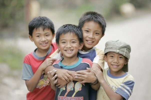Children in Luzon, Philippines